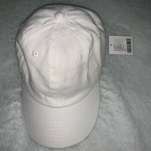 White Urban Outfitters hat